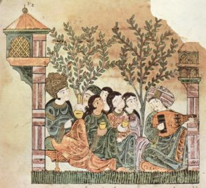 "The Story of Bayad and Riyâd (""hadeeth Bayad to Riyâd""), 13th C. Public domain worldwide"