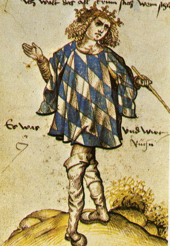 The Bavarian Herald Jörg Rügen around 1510. Public Domain in the US