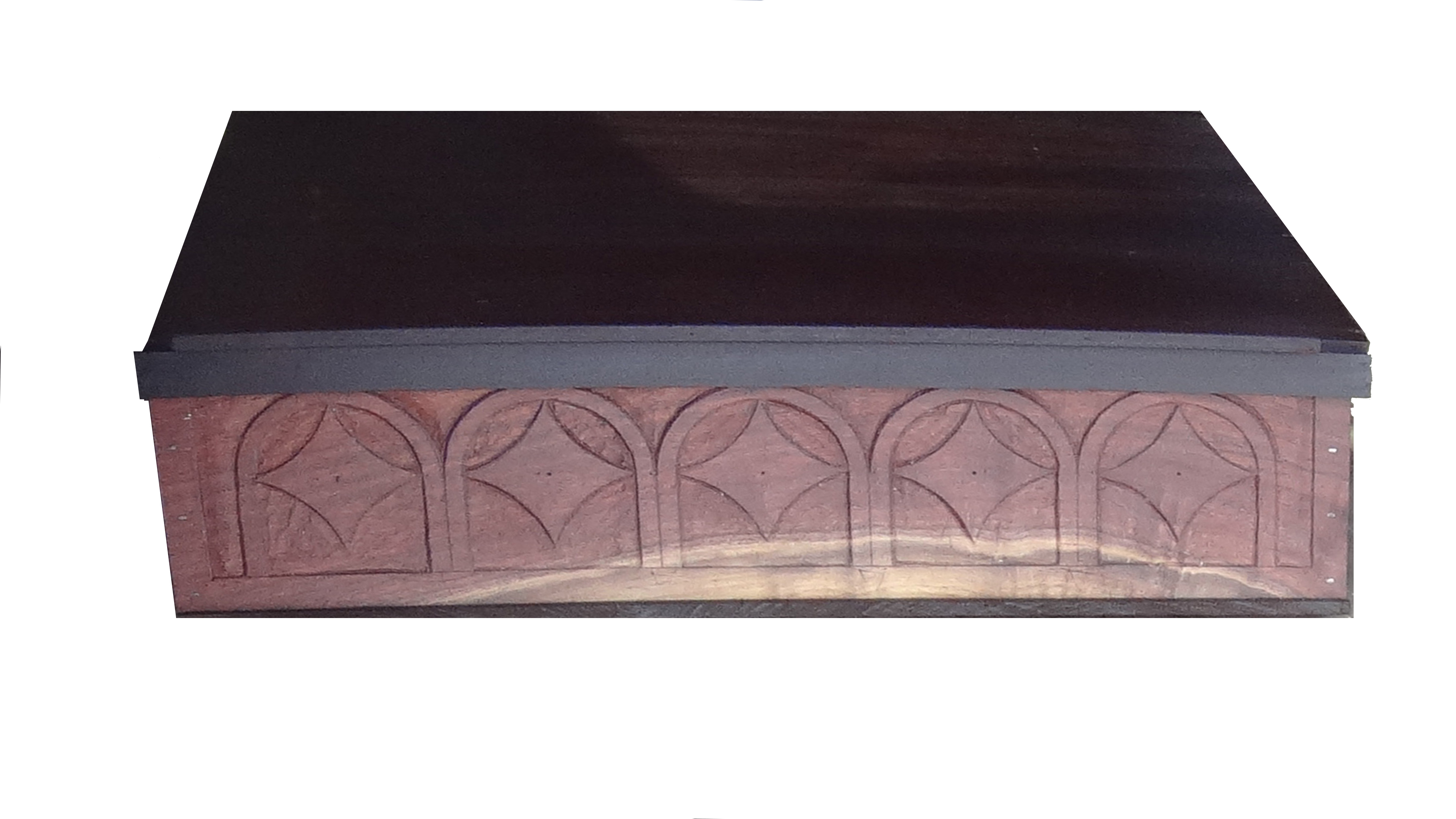 Royal Scribe Box by HL Vels- Front Panel. Just a teaser!