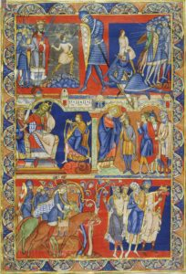 Scenes from the Life of David, ca 1160-1180. Public Domain in the US
