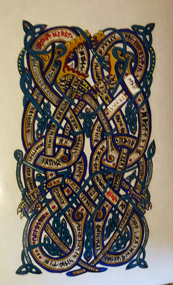 Court Baronage Scroll for Lothar de Rot