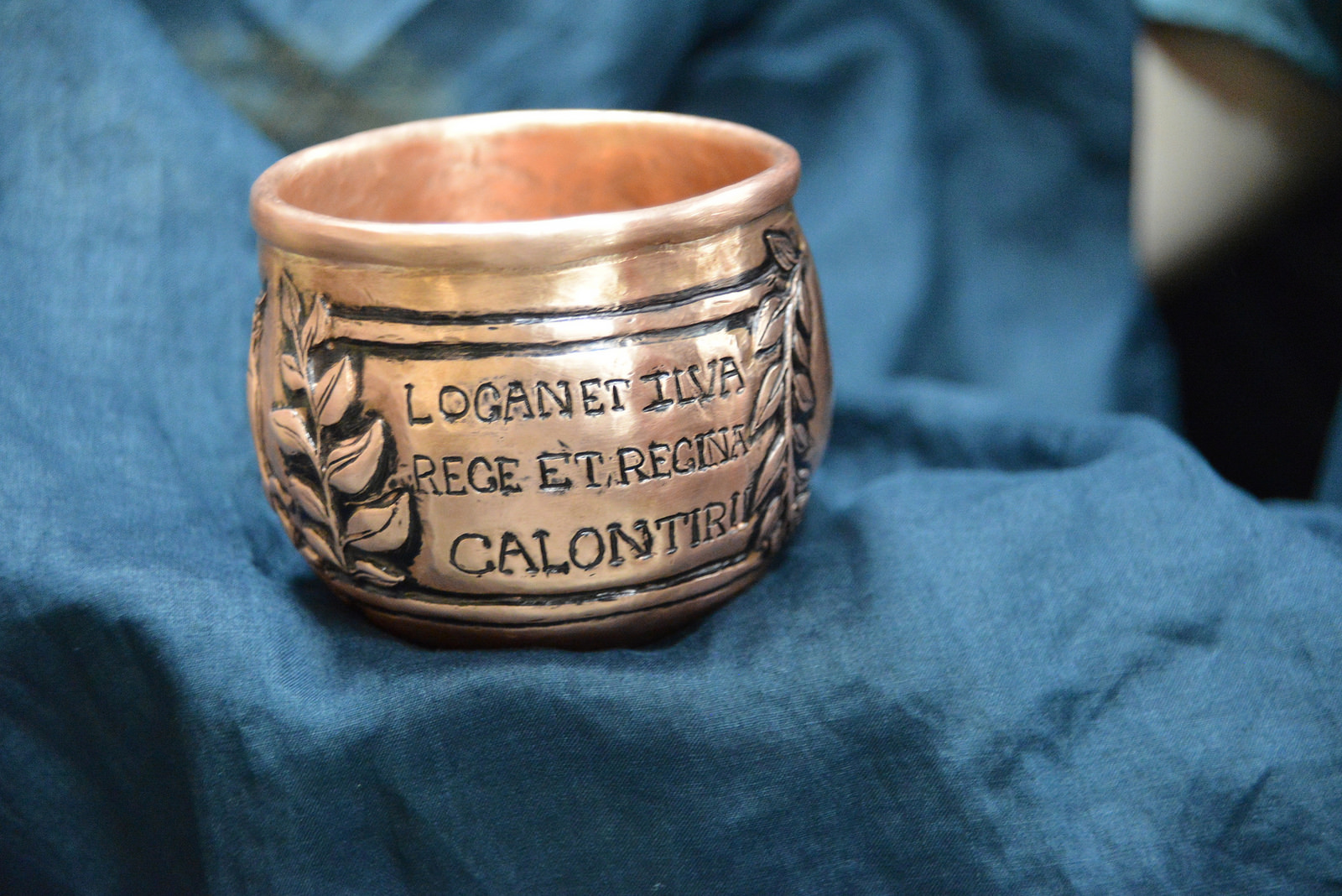Cup created by Mistress Katherine de Helige