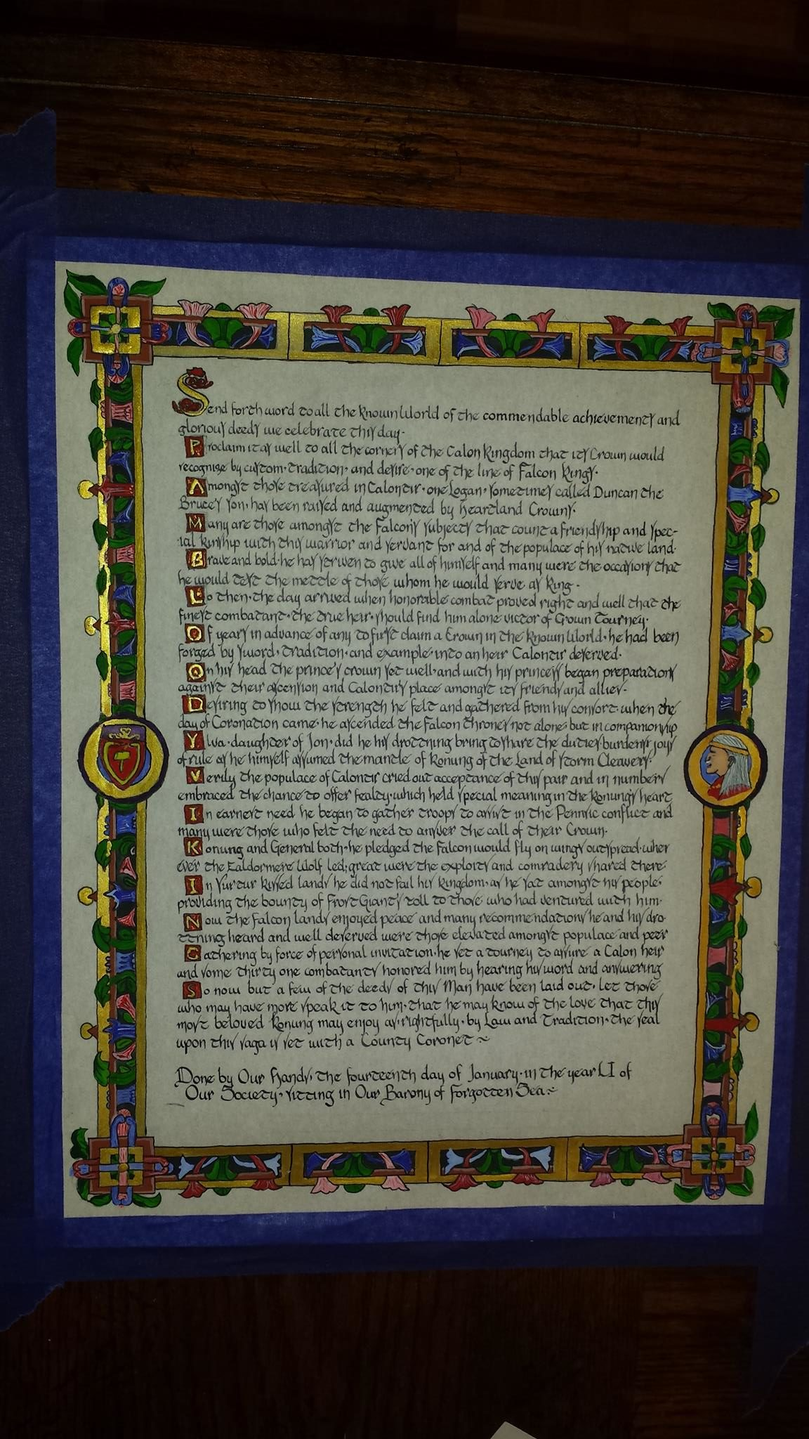 Logan County Scroll